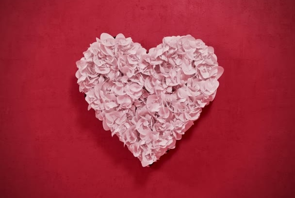 reveal your LOVE with rose petals in this romantic intro
