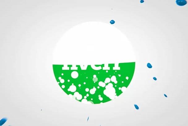 make an Amazing logo INTRO Video