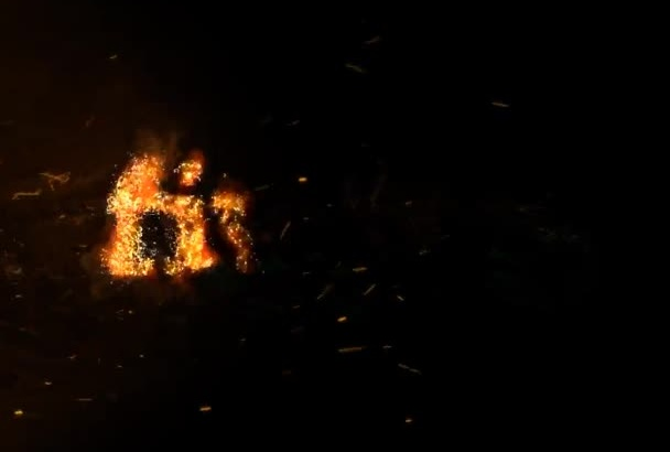 create an amazing fire intro