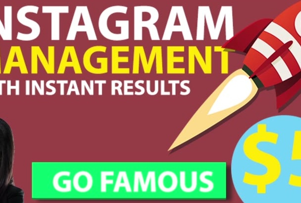 professionally Grow and Manage Marketing Your Instagram with my team