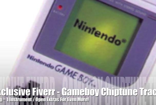 create a Nintendo Gameboy chiptune retro song