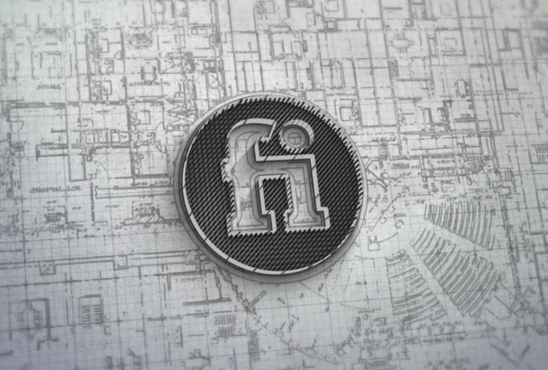 do build 3d logo intro