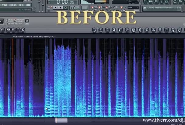 perfectly remove annoying clicks pops from audio