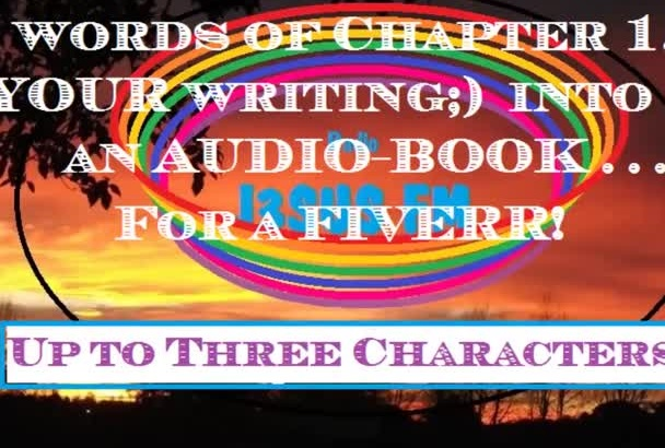 narrate your story, First chapter up to 1000 words