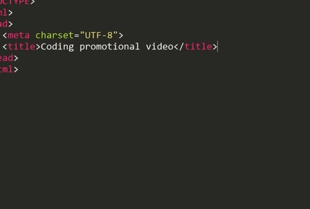 create code, coding, programming promo, explainer video