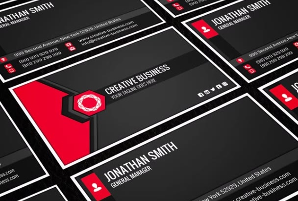 provide you 200 professional business card templates