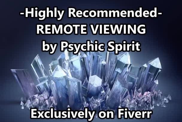 a PSYCHIC ReMOTE ViEWING WiTH GiG XtRA OnLY AMAZiNG Get NoW OPTiON Top Seller