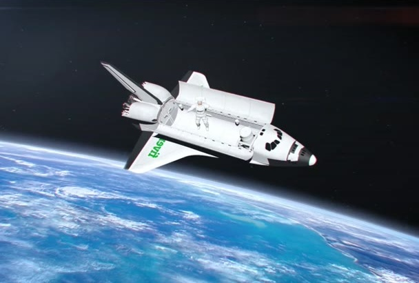 promote your brand on the Space Shuttle