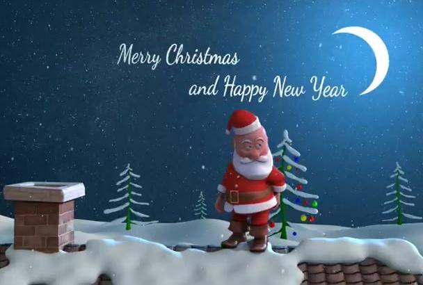 make Santa Claus Greeting Video