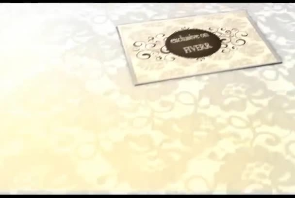 create table number or menu design for wedding
