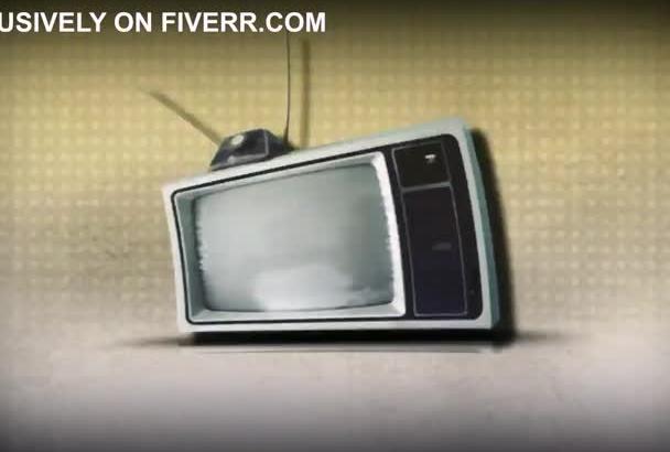 create this TV logo intro opener