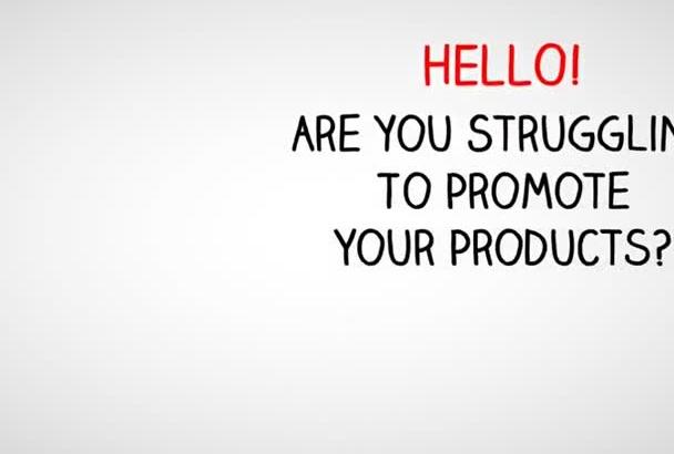 create professional WHITEBOARD animation