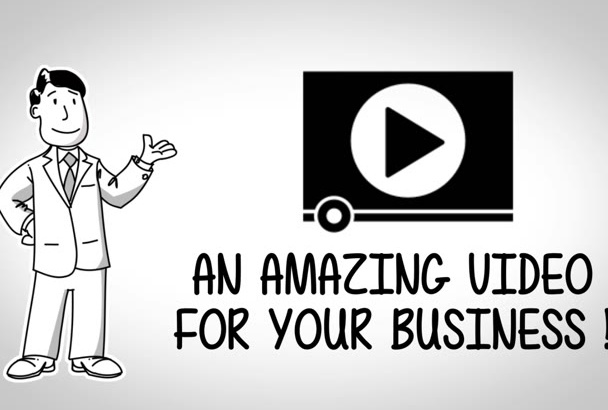 create a whiteboard video for you