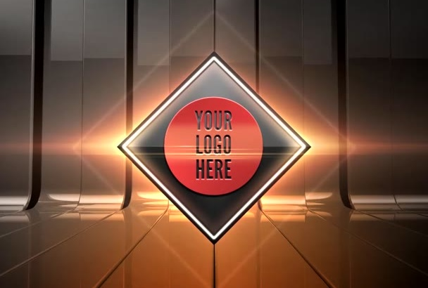 do Stylish Video Intro For Your Logo