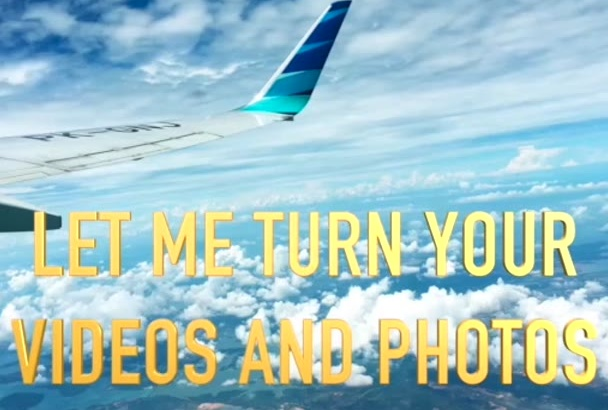 turn your photos and videos into beautiful montage