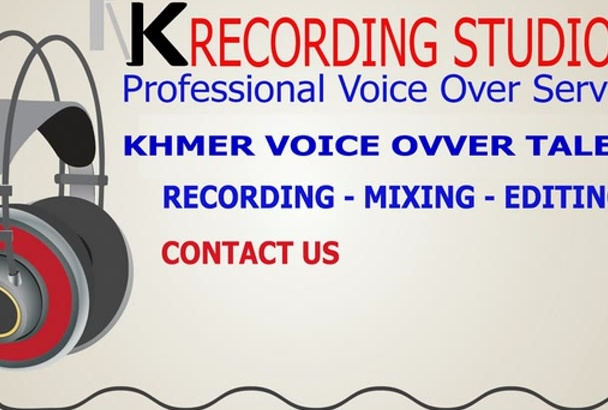 provide solutions Khmer Voice Over