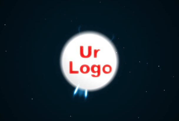 do lighting sphere logo animation or intro