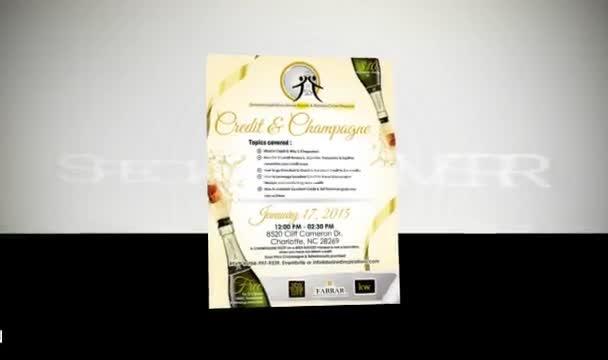 create a BEAUTIFUL flyer