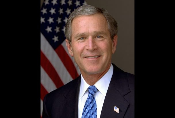 read up to 100 words in the voice of George W Bush