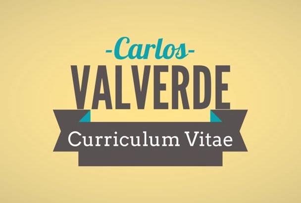 crear un vídeo curriculum vitae