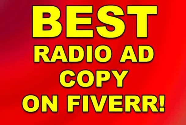write the BEST and most creative Radio Commercial