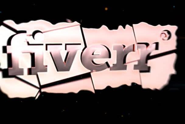 create Logo Intro which animates into the GALAXY