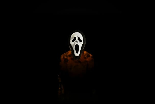 create Thriller style intro with Ghostface
