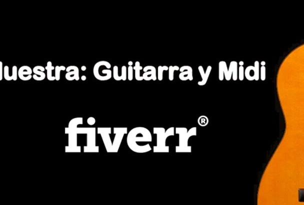 make transcriptions for classical guitar