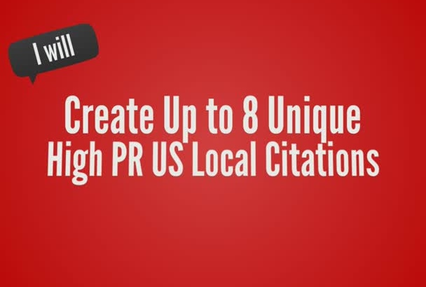 create 10 Unique US Local Citations Promote You On Google