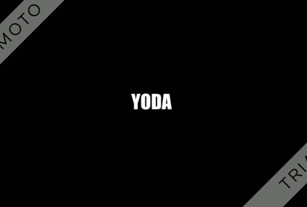 record your message as Yoda