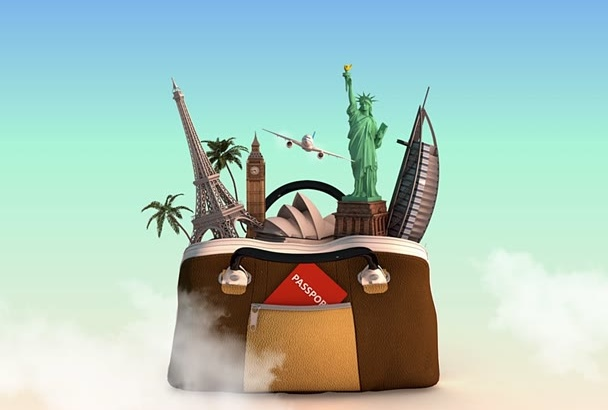 create a TRAVEL Agency Intro animation