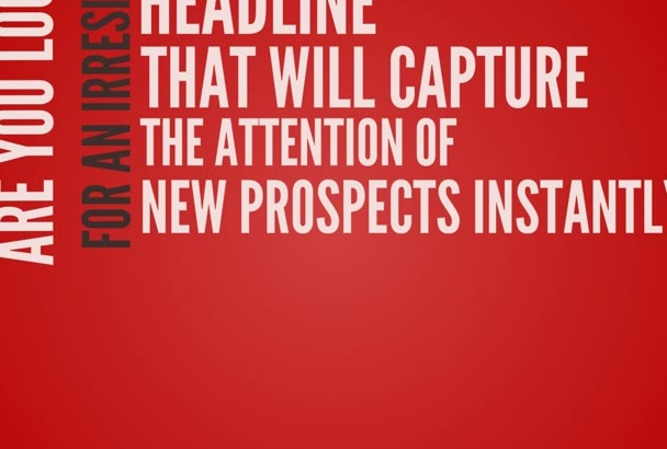 write 5 Irresistible Magnetic Headlines That Steal Attention