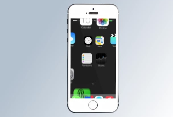 create IMPRESSIVE mobile app Logo reveal or app presentation