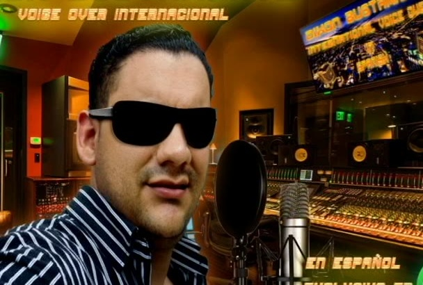 record Voice Over, Voice Talent Professional in Spanish