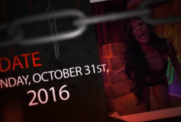 create a Halloween Horror Night Party Intro
