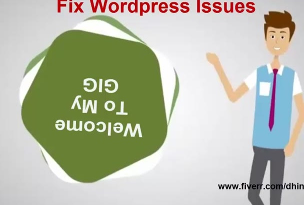 fix wordpress error and any css issues