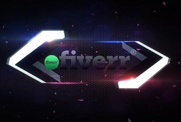 make Logo Intro Arrow Reveal
