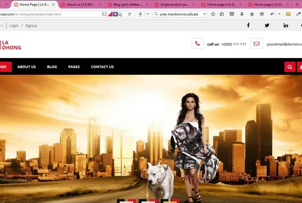 sell This HTML Fashion Template