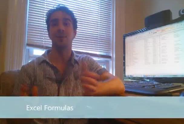 create an EXCEL Formula or Macro
