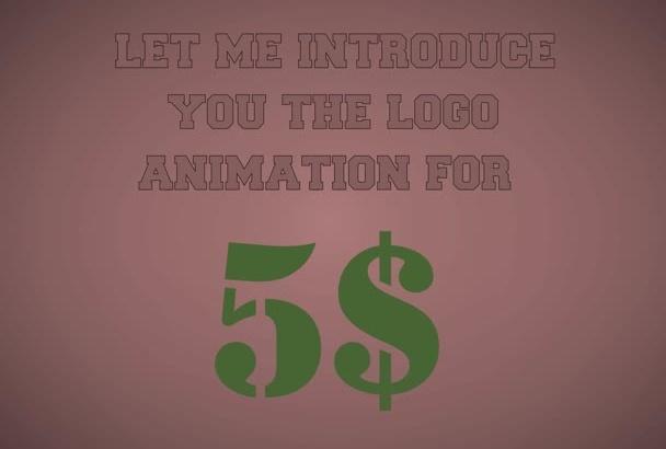 make you an animated logo
