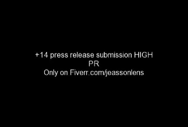 submit Manually your Press Release to 20 Best Pess Release sites