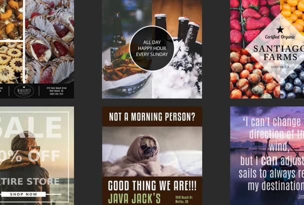 design a professional Instagram Promotion Banner