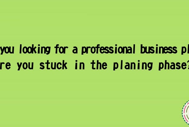 write fitness company business plan