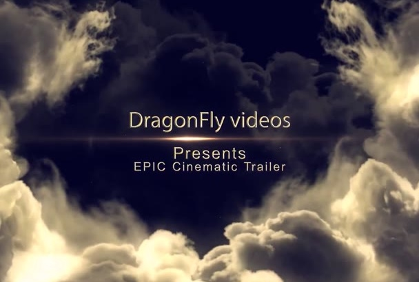 create a cinematic movie trailer or book TRAILER video