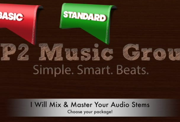 mix and master your audio