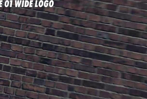 make graffiti logo intro
