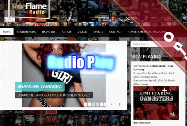 give your Urban Music double exposure with Radio play and a Magazine feature