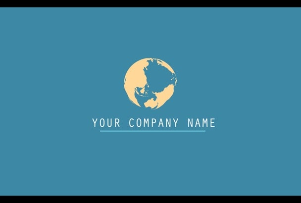 make a motion ghraphic intro for your business or company