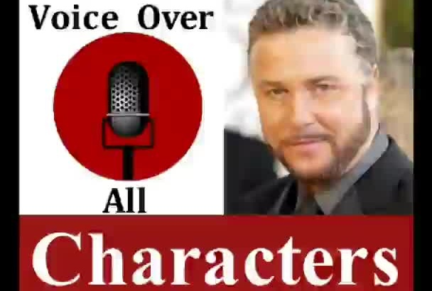 voiceover professional Original Character voice over