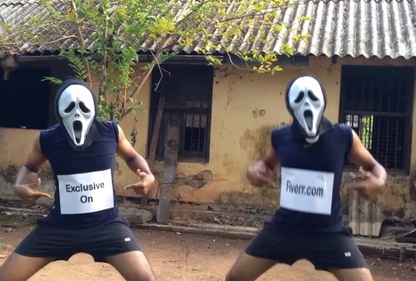 promote your message as funny dancing ghosts